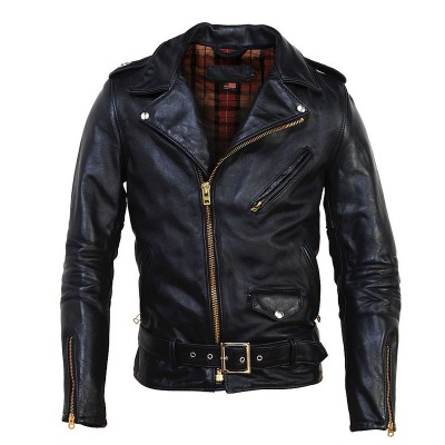 Front Zip Nappa Leather with Thinsulate Lining