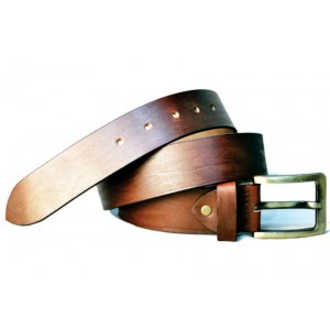Rivet Distressed Leather Belt