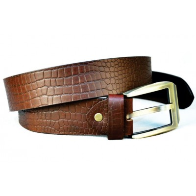 Brown Leather Full Grain Leather Belt