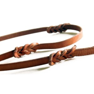 Hard Leather Leash