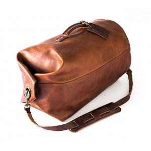 Tanned Nubuck Leather Vintage Bag