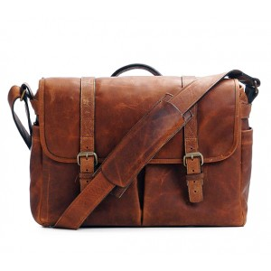Crossbody Leather Duffel