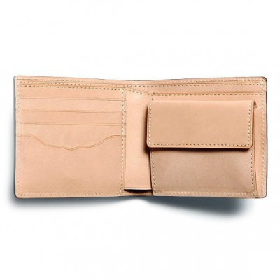 Slim Billfold Id Wallet In Leather