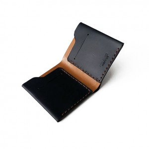 Heritage Web Leather Compact Id Wallet
