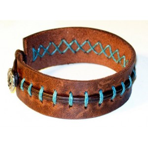 Unique Buff Leather Bracelet